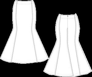 Annabelle Fishtail Skirt