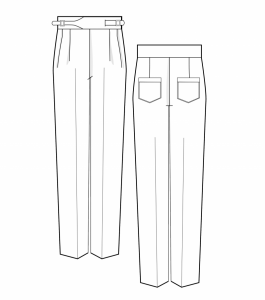 The Basquiat Trousers